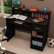 finish black black computer desks