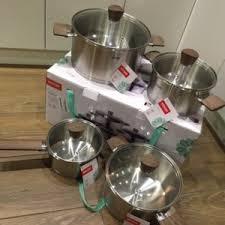 Набор посуды из нержавеющей стали <b>NADOBA</b> 726919 <b>Ludva</b> ...