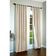 Hidden Tab Curtains White Blackout Curtains Tab Top Curtain Menzilperdenet
