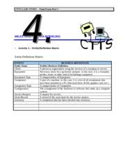 IS     Milestone    and    Case study Coastline Systems Consulting        pages
