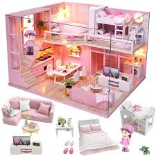 Online Shop <b>Cutebee Doll House Furniture</b> Miniature Dollhouse DIY ...