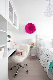 white clean bedroom with pops of color bedroom teen girl rooms