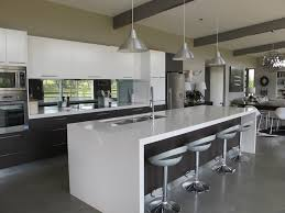 ideas breathtaking kitchen designs with island bench also brushed nickel industrial pendant lighting and stainless steel bench lighting