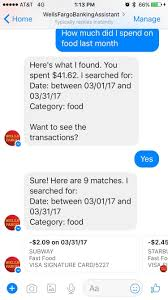 wells fargo testing bot for messenger featuring new customer full size