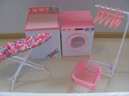 barbie size dollhouse furniture laundry room washing machine dryer by zfinding http amazoncom barbie size dollhouse