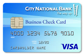 use your city national visa business check card to pay for all the big and little things that keep your small business thriving and running smoothly every check small