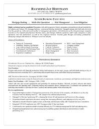 mortgage banker resume example resume examples for banking jobs