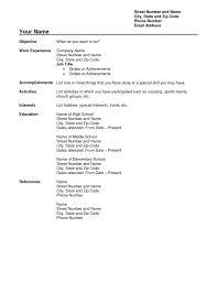 free basic resume templates resume builder usa job yazhco basic free microsoft resume templates for mac free basic resume templates