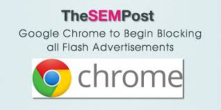 Image result for Chrome blocks flash ads