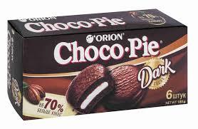 <b>Пирожное Choco Pie</b> dark 180г <b>Orion</b> - купить с доставкой в ...