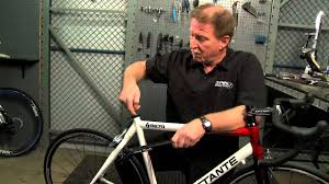Installing a <b>Bicycle Seat Post</b> from Performance <b>Bicycle</b> - YouTube
