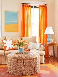 bright orange living room curtain accessoriesravishing orange living room