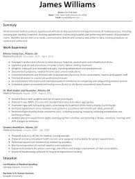 medical assistant resume sample com