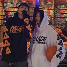 Palace Hoodies cotton streetwear Hooded <b>Spring</b> and Autumn ...