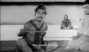 norman holland on akira kurosawa s rashomon enjoying this is a wonderful but complicated movie i suggest that you the essay below to get started it but the essay involves spoilers