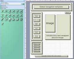 introduction to visio    kristin daviswireframe  created using the block diagram shapes