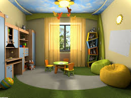 charming beige green wood glass modern design kids bedroom decoration wall paint curtain windows carpet feather charming white green wood unique design simple