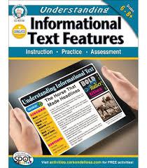 understanding informational text features workbook grade  understanding informational text features workbook