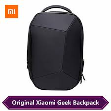 <b>Xiaomi Geek Backpack</b> Geometric Splicing Reflective Ergonomics ...