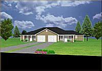 Duplex house plans  bedrooms   PlanSource  IncJ d  duplex design   garages