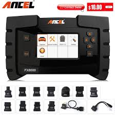 Ancel FX6000 OBD2 Scanner Professional Car Diagnostic ... - Qoo10