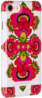 <b>Клип</b>-<b>кейс So Seven</b> Spirit принт Motif rose для <b>Apple</b> iPhone <b>7</b>/8