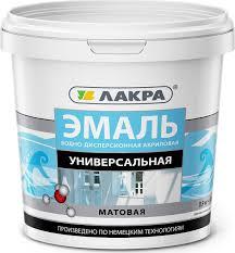 <b>Эмаль Лакра Акриловая</b> Матовое покрытие — купить в интернет ...