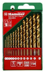 <b>Набор сверл Hammer</b> 202-903 DR set No3, 13 шт. — купить по ...