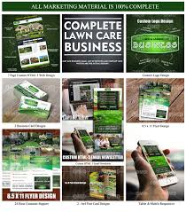 lawn care flyer template lawn care business marketing tips complete lawn care business everything from websites door hanger direct mailers and flyers