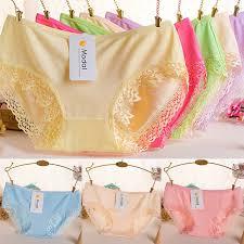 <b>1PC High Quality</b> Popular Lace <b>Panties</b> Bamboo Charcoal Fiber Hot ...