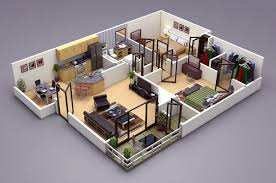 ds max  Floor plans and d on Pinterest