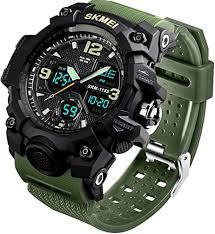 Men's Analog Sports Watch, LED Military Wrist Watch ... - Amazon.com