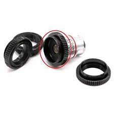 MICROSCOPE OBJECTIVE <b>LENS Adapter Ring C</b>-mount to <b>RMS</b> for ...