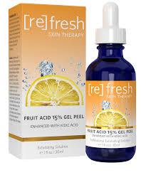 <b>Fruit Acid</b> 15% Gel <b>Peel</b> with Kojic - Refresh Skin Therapy