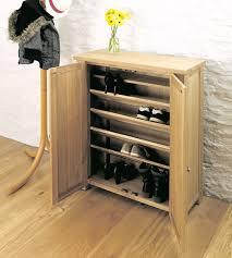 solid oak shoe cupboard aston solid oak
