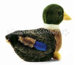 Мягкая игрушка <b>Hansa Утенок 19 см</b> - Акушерство.Ru
