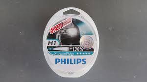 Отзыв о лампах <b>Philips X</b>-<b>treme</b> Vision (+130%) — DRIVE2