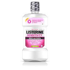 SENSITIVITY Alcohol-Free <b>Sensitive Teeth Mouthwash</b>   <b>LISTERINE</b>®