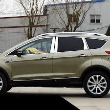 <b>Lsrtw2017</b> 304 <b>stainless steel car</b> window trims for ford kuga 2012 ...