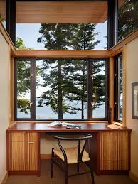 large office desk port ludlow house modern home office idea in seattle with a built built in desks for home office
