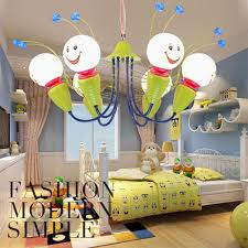 ceiling kids rooms bee kids hanging lamp baby room lighting children cute abajur infantil luminaria child baby bedroom ceiling lights
