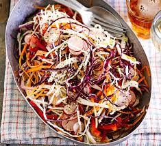 <b>Sweet</b> & sour <b>rainbow</b> slaw recipe - BBC Good Food