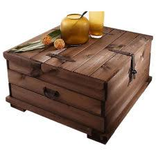 trunk style coffee table with storage rustic brown accent furniture wood decor chest coffee table multifunction furniture