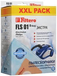 Мешок-<b>пылесборник Filtero FLS</b> 01 (S-bag) XXL Экстра, для ...