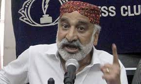 Image result for images Dr Zulfiqar Mirza Press Conference