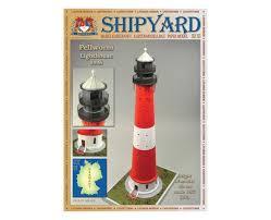 Купить <b>Сборная картонная модель Shipyard</b> маяк Pellworm ...