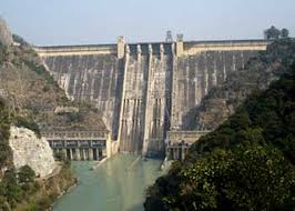 Image result for concrete gravity dam in india