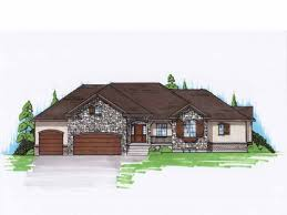 Eplans New American House Plan   French Country Rambler Home    Eplans New American House Plan   French Country Rambler Home   Square Feet and Bedrooms from Eplans   House Plan Code HWEPL