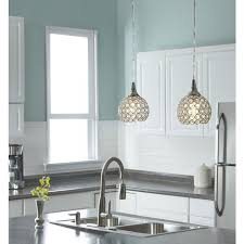 find style selections ladura w chrome hardwired standard mini pendant light with crystal shade at lowes lowes offers a variety of quality home improvement awesome designing clear glass mini pendant lights