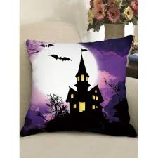 [24% OFF] 2020 <b>Square Halloween Gothic Pillow</b> In Multicolor A ...
